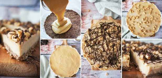Odlična arašidova pita brez peke