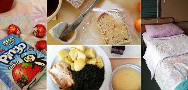 Blog 025:  Hrana (in vse ostalo) v bolnišnici