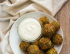 KLIK: Brokolijeve kroglice s sirom in jogurtovo pomako