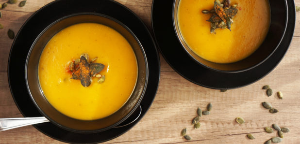 Bučna kremna juha