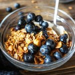 Domača lešnikova granola