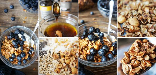 KLIK ZA FOTKO: Domača lešnikova granola