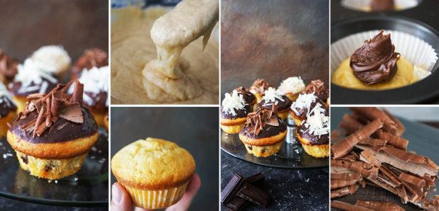 KLIK ZA FOTKO: Enostavni kolački s trojno čokolado