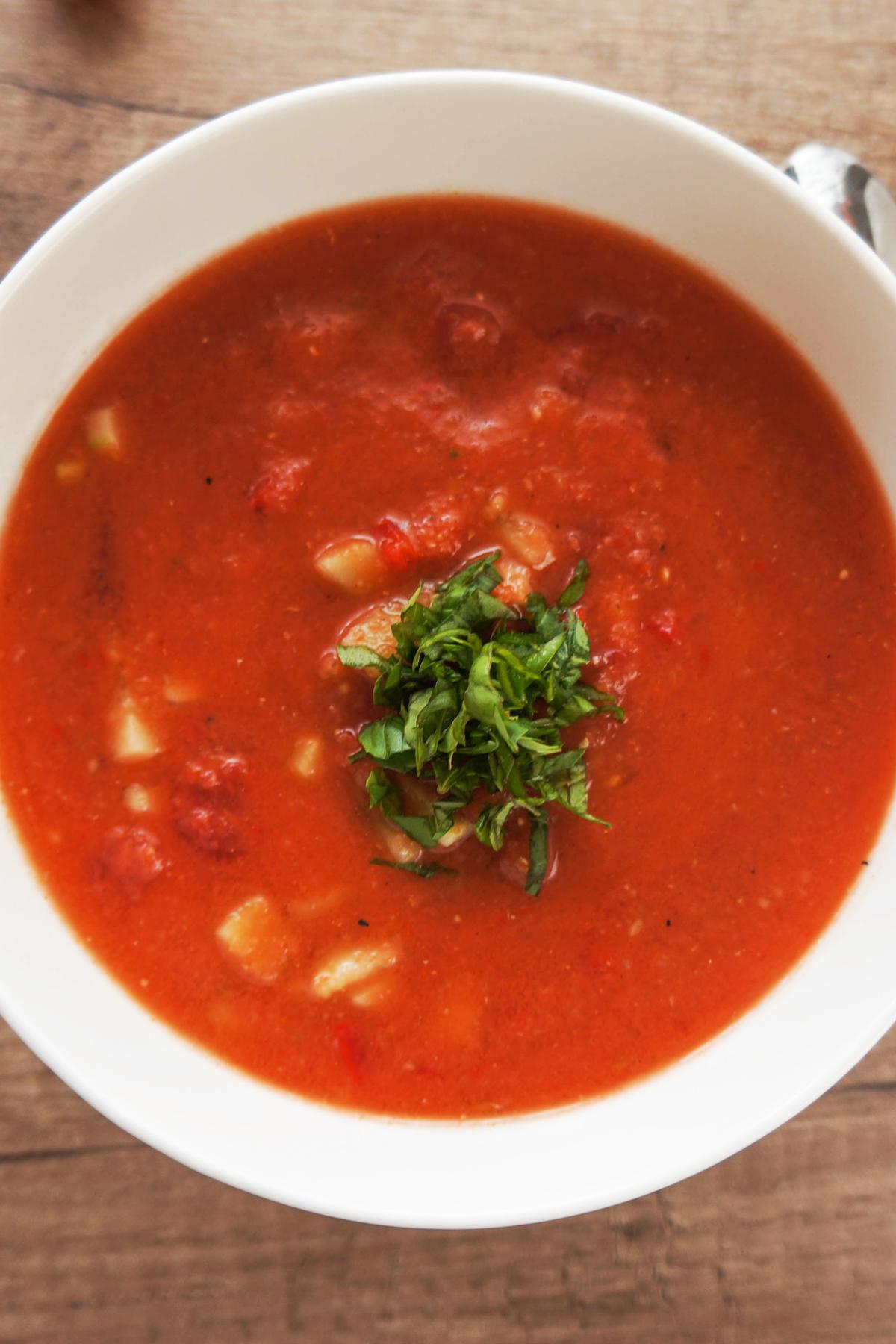 Gaspačo juha