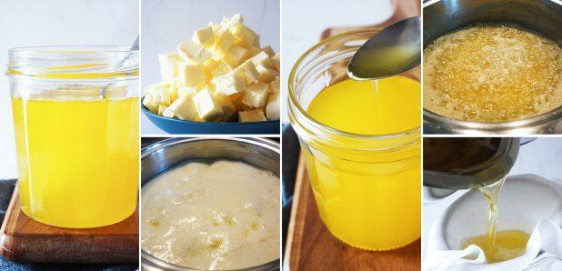 Domače prečiščeno maslo ghee