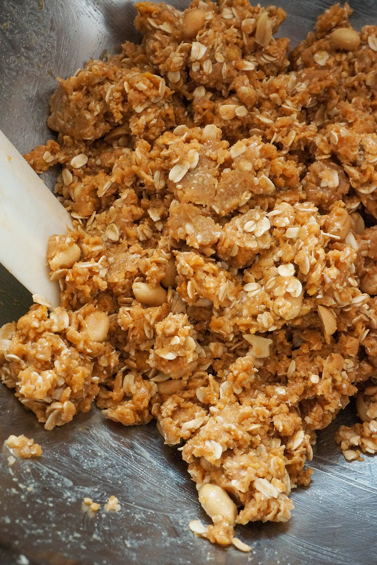 Mehke arašidove granola ploščice