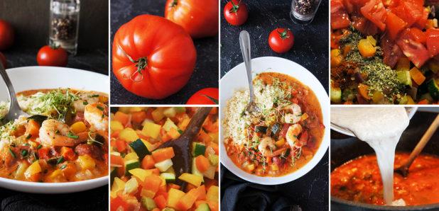 Gumbo: Južnoameriška zelenjava juha z gamberi in klobaso