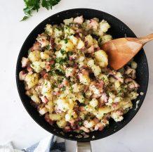 Hobotnica s krompirjem malo drugače