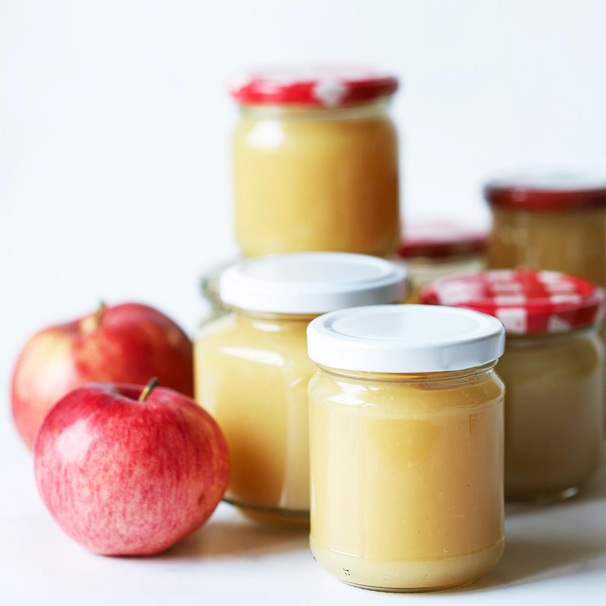 Applesauce: domača jabolčna kaša