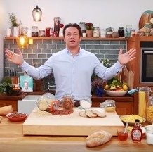Jamie Oliver on carbs