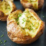 Neverjetno enostaven puhast krompir v oblicah