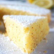 Osvežilen limonin kolač