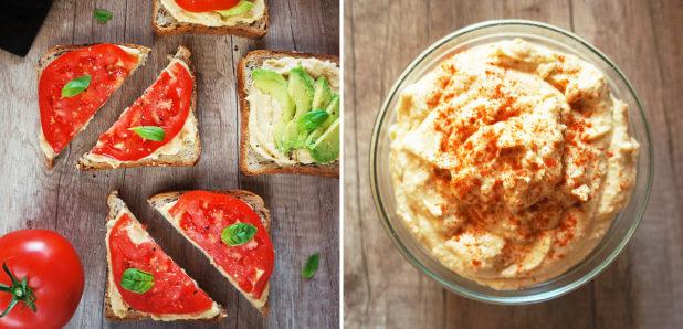 Sendvič s humusom, Humus