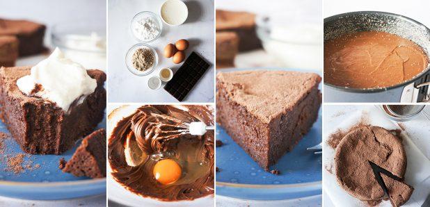 Najboljša čokoladna mascarpone tortica brez moke