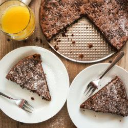 Čokoladna mascarpone tortica brez moke