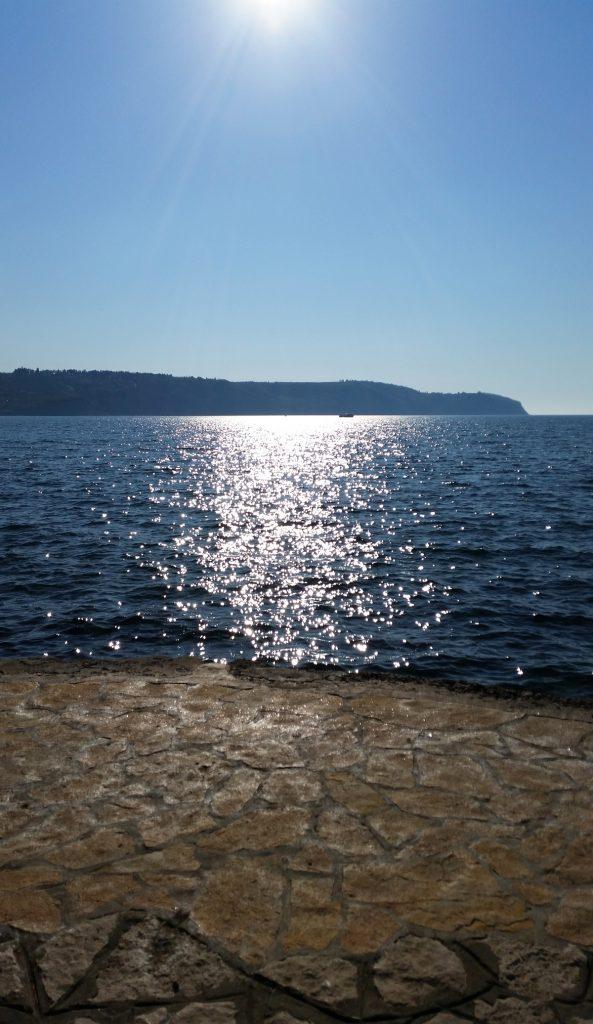 Pogled na morje v Izoli