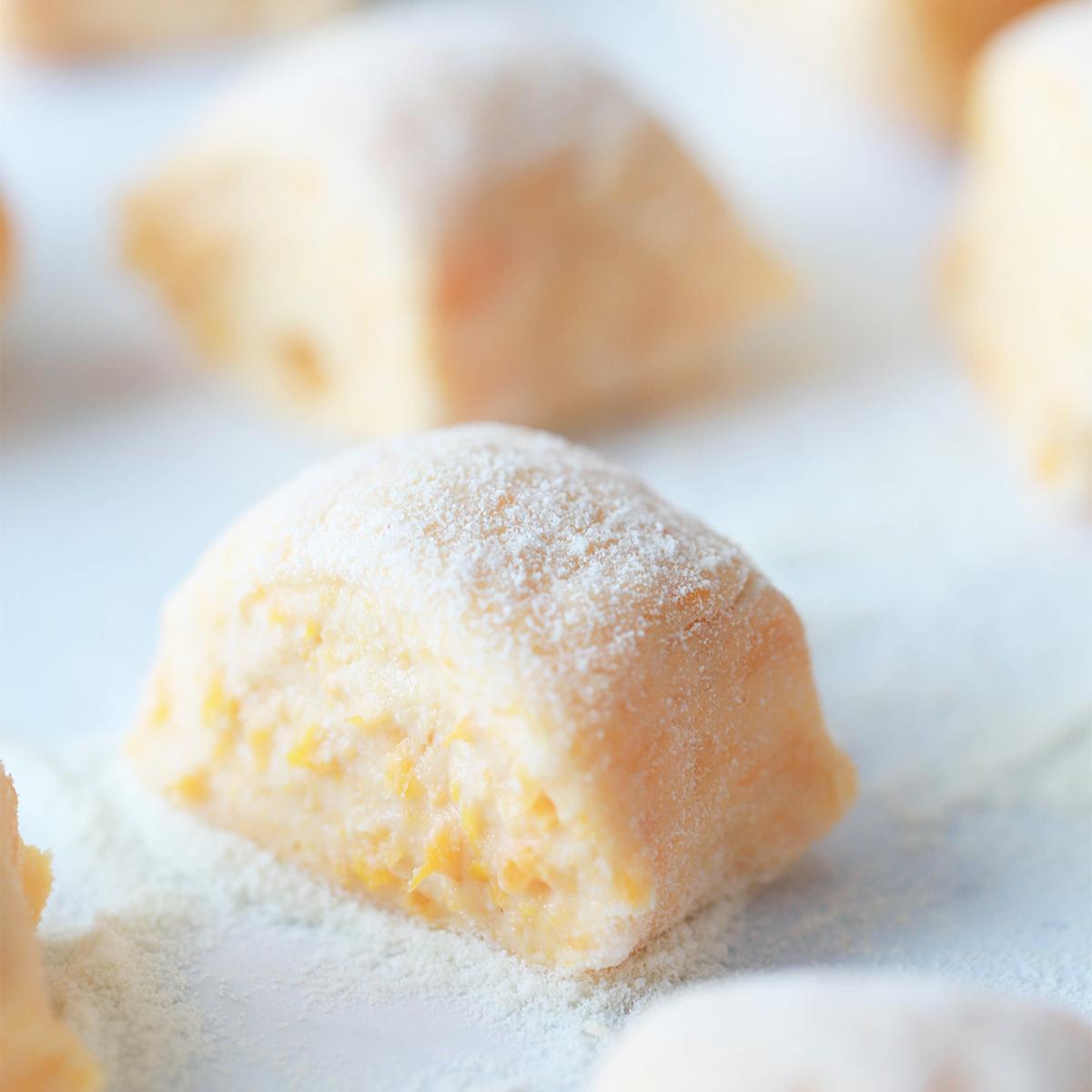 Puhasti njoki iz sladkega krompirja