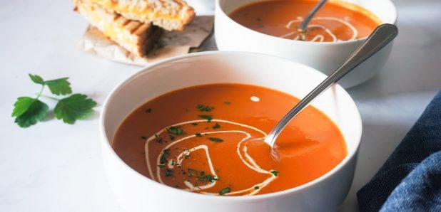 Najboljša paradižnikovo-korenčkova juha