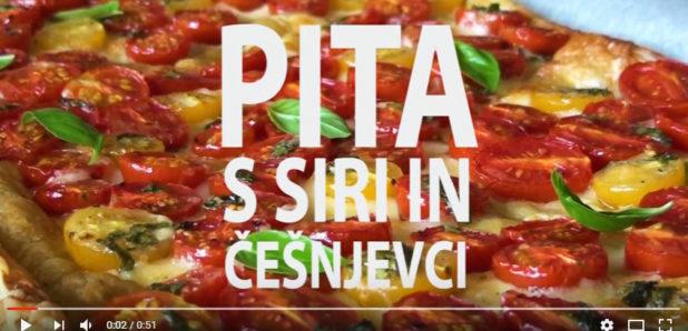 Video Pita s siri in češnjevci