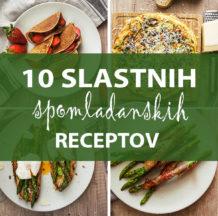 Spomladanski recepti