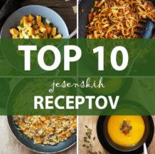 Blog 017: Jesenski recepti