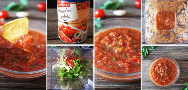 KLIK ZA FOTKO: Domača paradižnikova salsa