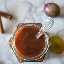 Slivova marmelada s cimetom