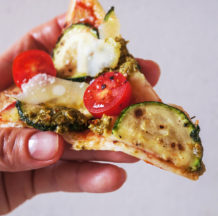 Ekspresna bučkina tortilija pica