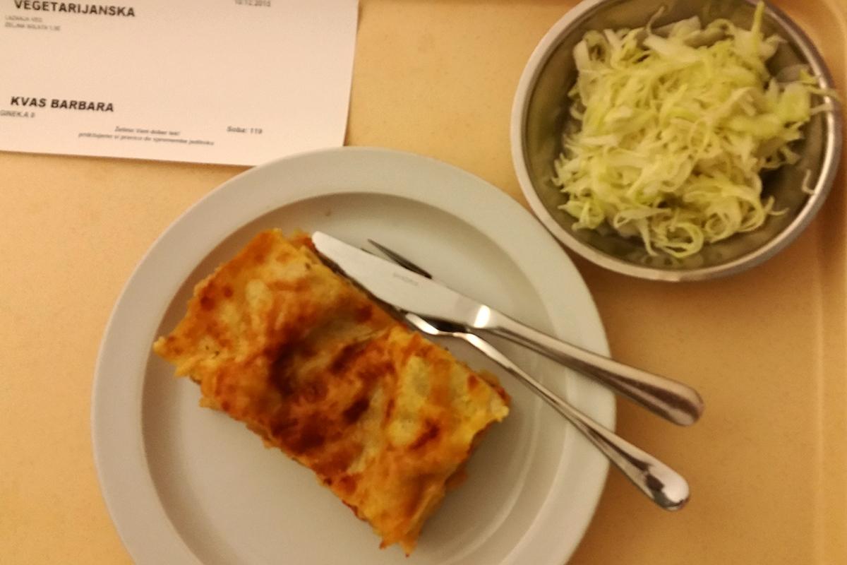 UKC - večerja