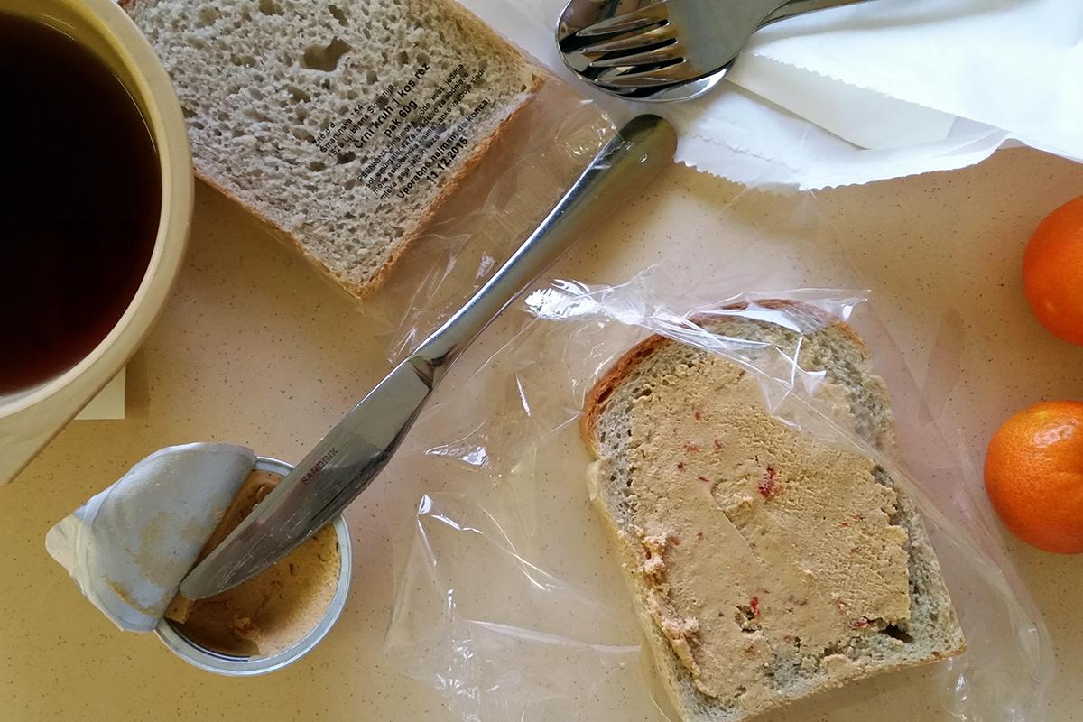 UKC - zajtrk