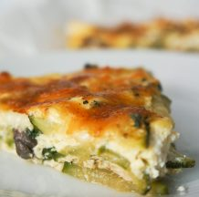 Zelenjavno-sirova pita